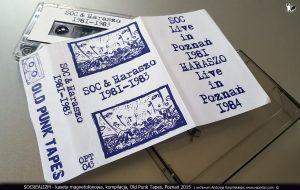 SOCREALIZM - kaseta magnetofonowa, kompilacja, Old Punk Tapes, Poznań