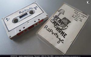 REPORTAZ - kaseta magnetofonowa, Domator, ARS2 02, Pila 1984