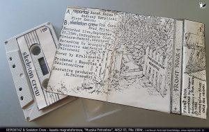 REPORTAŻ - kaseta magnetofonowa, Front Rock 1, Muzyka Potrzebna, ARS2 03, Piła 1984