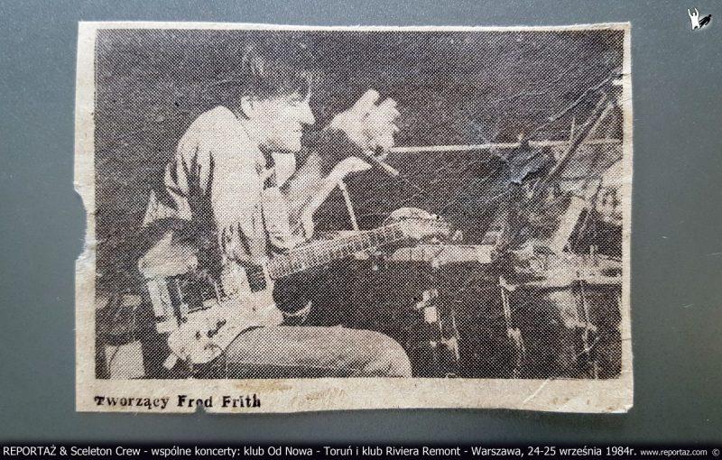 1984_koncert_Reportaz_Sceleton_Crew_Fron_Rock_1_Muzyka_Potrzebna_Torun_Warszawa z archiwum Andrzeja Karpińskiego