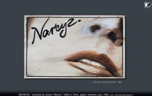 """ilustracja do utworu """"Narcyz"""""""
