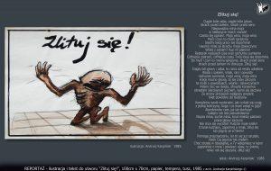"""tekst i ilustracja do utworu """"Zlituj się!"""""""