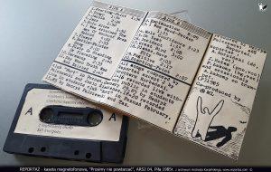 Reportaż kaseta magnetofonowa, Prosimy nie powtarzać, ARS2 04, Piła 1985