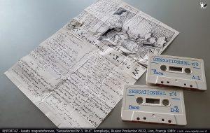 Reportaż kaseta Sensationnel Nr.3, Nr.4, kompilacja, Illusion Production PO22, Lion, Francja 1985