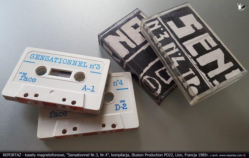 REPORTAŻ kaseta Sensationnel Nr.3, Nr.4, kompilacja, Illusion P