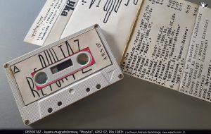 Reportaż kaseta magnetofonowa, Muzyka, ARS2 07, Piła 1987
