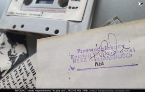 Reportaż kaseta magnetofonowa, W górę rzeki, ARS2 08, Piła, 1988