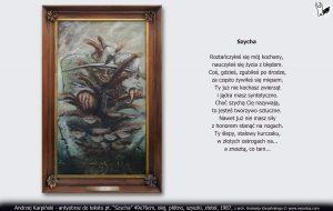 """antyobraz do tekstu """"Szycha"""" 1987"""