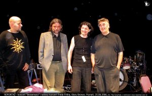 Reportaż Bezsensory i koncert Freda Fritha, Stary Browar, Poznań 2006