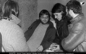 Koncert Prawo Ciążenia, Eskulap, Poznań 16 marca 1987