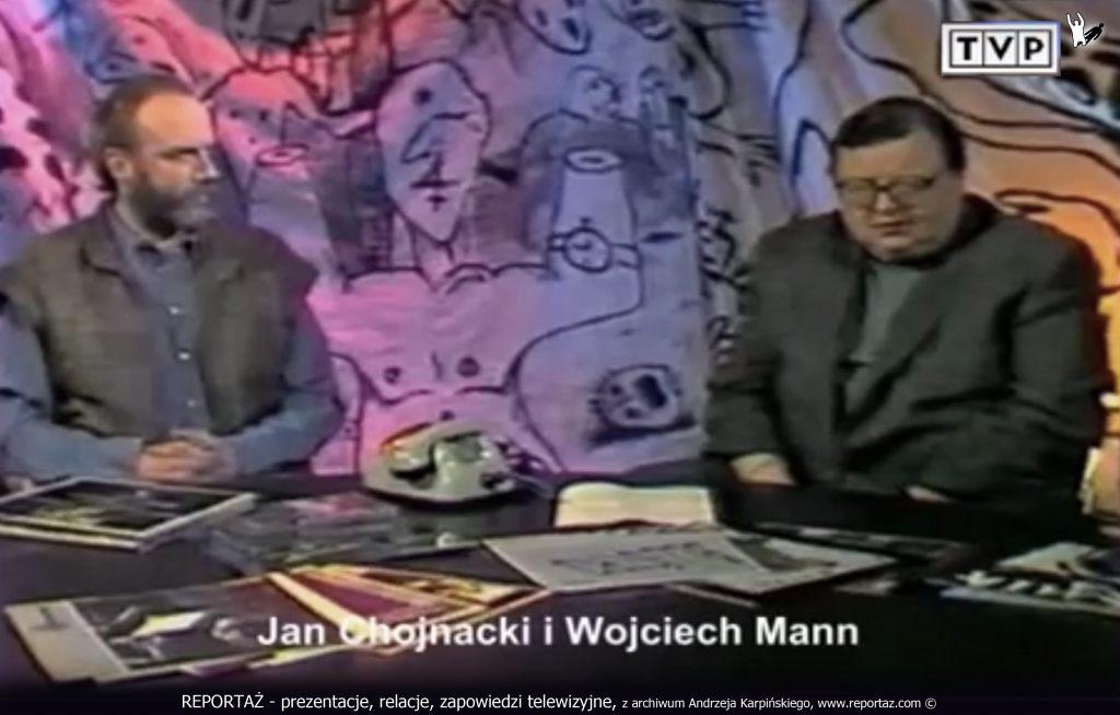 REPORTAŻ - prezentacje, relacje, zapowiedzi telewizyjne, z archiwum Andrzeja Karpińskiego