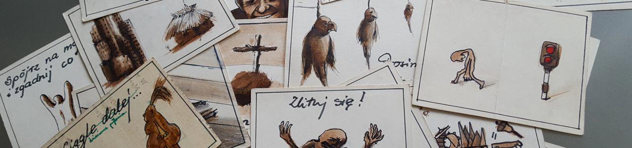 Reportaż ilustracje i obrazy do tekstów od 1985