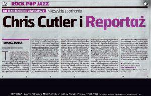 Reportaż, recenzja koncertu Operacja Media, Tomasz Janas 2008