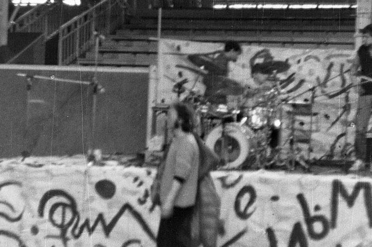 REPORTAŻ, koncert Prawo Ciążenia, festiwal MARCHEWKA, Hala Gwardii, Warszawa, 27-29.03.1987, z arch. Andrzeja Karpińskiego