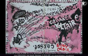 plakat festiwalu Marchewka Carrot Warszawa 1987
