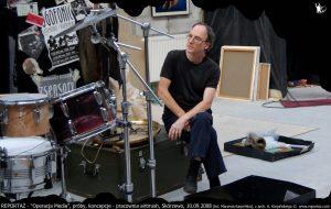 Reportaż & Chris Cutler próby do Operacja Media, Skórzewo 2008