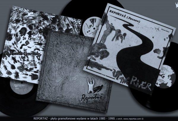 Reportaż -  płyty gramofonowe wydawane w latach 1985-1990.