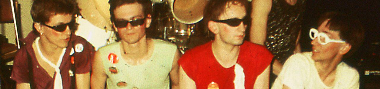 Sten punk band Poznan 1981