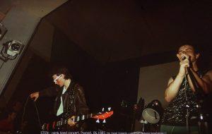 punk band Sten, kino Kosmos, Poznań 05.06.1981