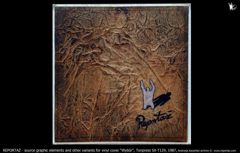 Reportaż, LP Tonpress SX-T129, 1987r.