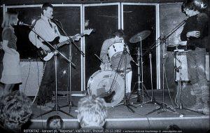 pierwszy koncert Reportaż, klub Nurt, Poznań 1982