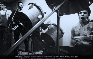 koncert Reportaż, klub DNO, ASP Poznań 1983