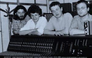 Reportaż, studio Radia Merkury, Poznań 1988