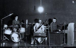 W górę Rzeki, Up the River próba przed koncertem 1988