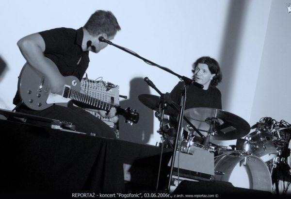 Pogofonic - Andrzej Karpiński, Nicolas Chatenoud, Stary Browar, Poznań 2006.
