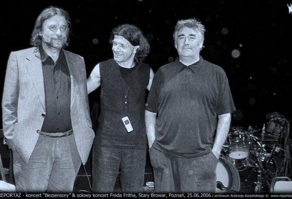 Reportaż - Henryk Palczewski, Andrzej Karpiński, Fred Frith, Stary Browar, Poznań 2006.