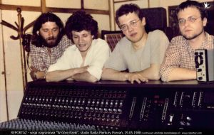 Reportaż, W górę rzeki, nagrania LP Up the River 1988