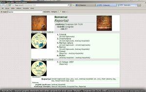 sprzedaż płyty Winylowej LP Reportaż Tonpress 1987