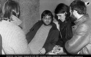 Lech Jankowski, Arnold Dąbrowski, Andrzej Karpiński, Piotr Łakomy klub Eskulap Poznań 1987