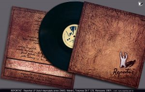 Winyl LP zespołu Reportaż Tonpress 1987