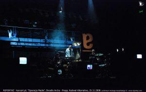 Reportaz & Chris Cutler, Divadlo Archa, The Media Operation, Praga 2008