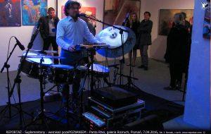 recital Suplementony, wernisaż Pozapoznaniem, galeria Rozruch Poznań 2016